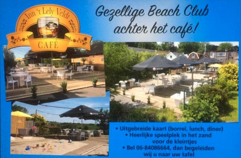 Eten op het terras voor 2 personen bij Café 't Lely Veldt met 6 consumpties (1)