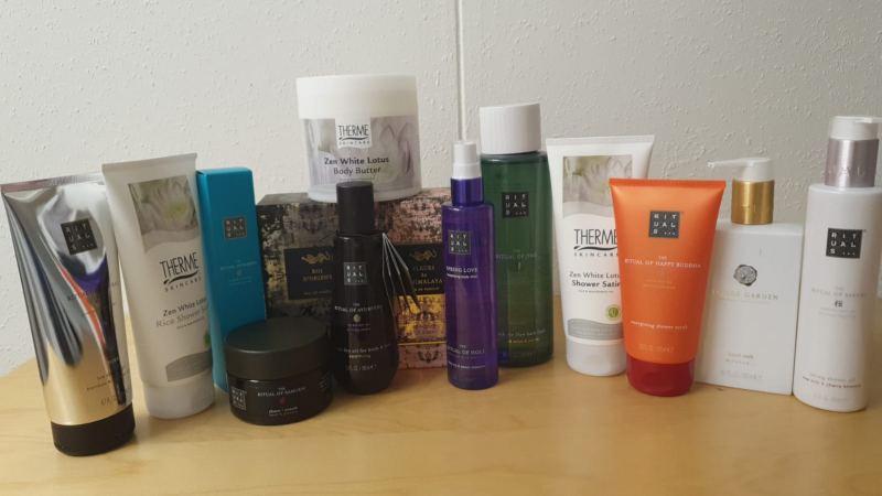 Cosmetica pakket (1)