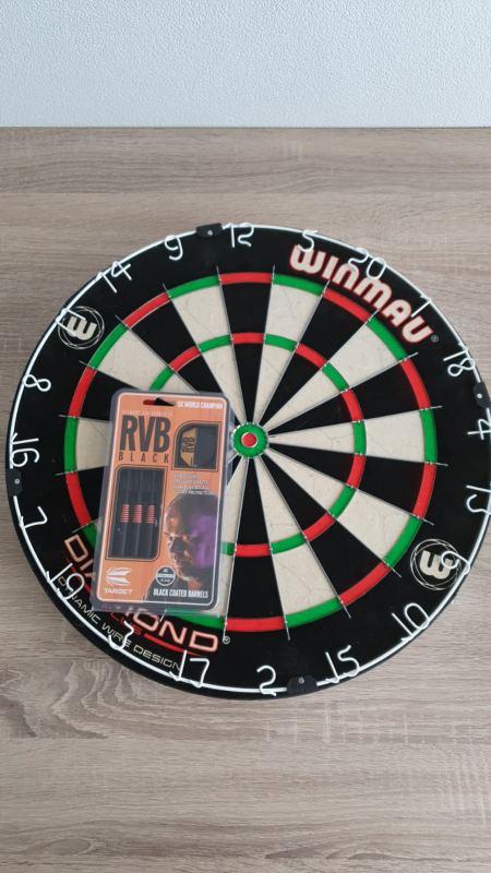 Deelname darttoernooi 2022 (incl. drank) + dartbord + dartpijlen