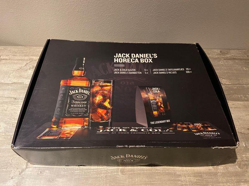 Jack Daniels Whiskey pakket
