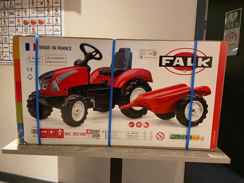 Speelgoed tractor + aanhanger