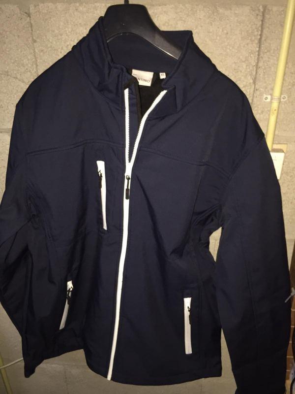 Ademende water- en winddichte jas (XL)